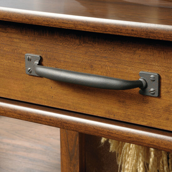 Two-Drawer Transitional Sofa Table in Washington Cherry