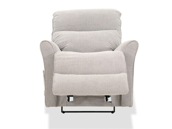 """34"""" Contemporary Wall Saver Recliner in Gray"""