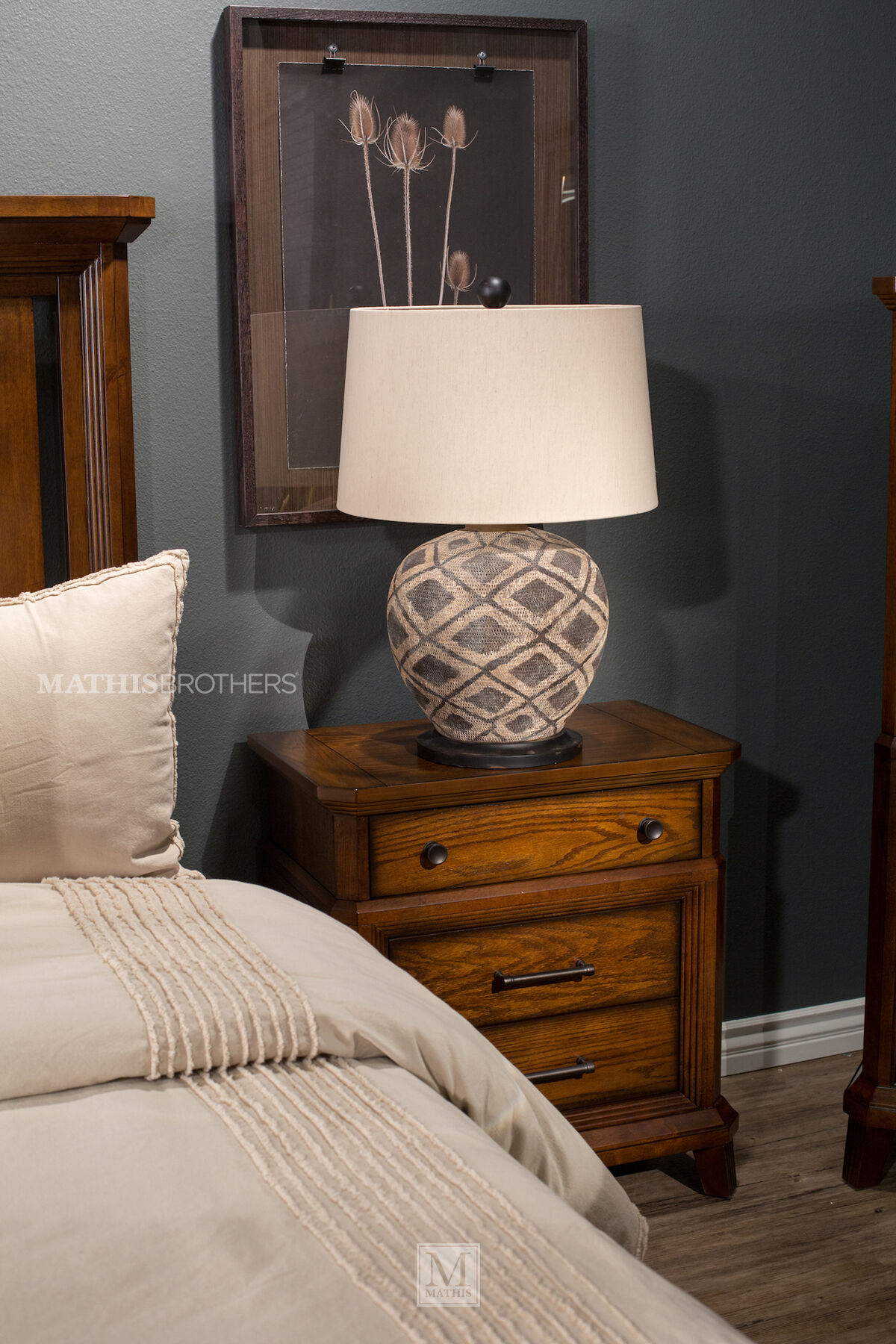 ... Four Piece Mission Bedroom Set In Brown ...
