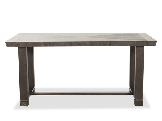 "Transitional 64"" to 88"" Friendship Table in Smoky Arabica"