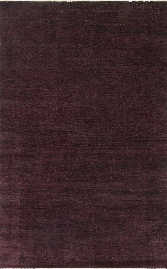 "Contemporary 7'-9""x9'-9"" Rug in Plum"