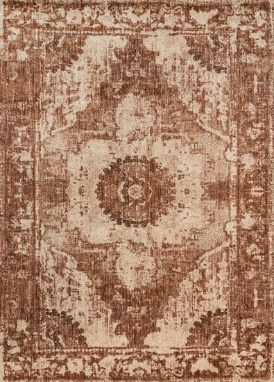 "Contemporary 12'-0""x15'-0"" Rug in Sand/Rust"