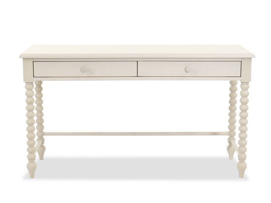 Two-Drawer Cottage Youth Desk in Gossamer Gray