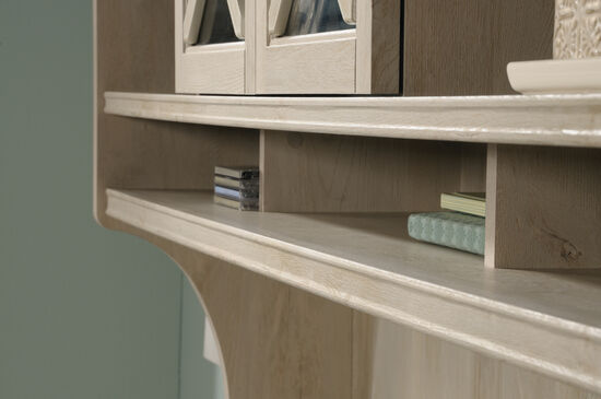 "64"" Contemporary Large Hutch in Chalked Chestnut"