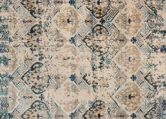 "Magnolia Home Power Loomed 5' 3"" X 7' 8"" Rug in Sand/Ocean"