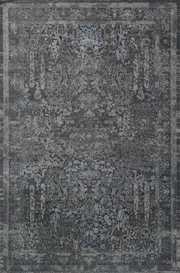 """Transitional 2'-7""""x4' Rug in Grey/Grey"""