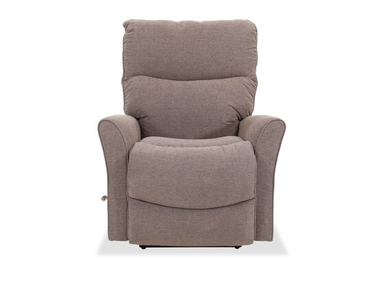 "34"" Contemporary Wall Saver Recliner in Gray"