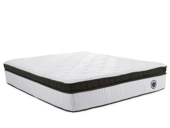 ecocomfort Bismark Hybrid Plush Twin XL Mattress