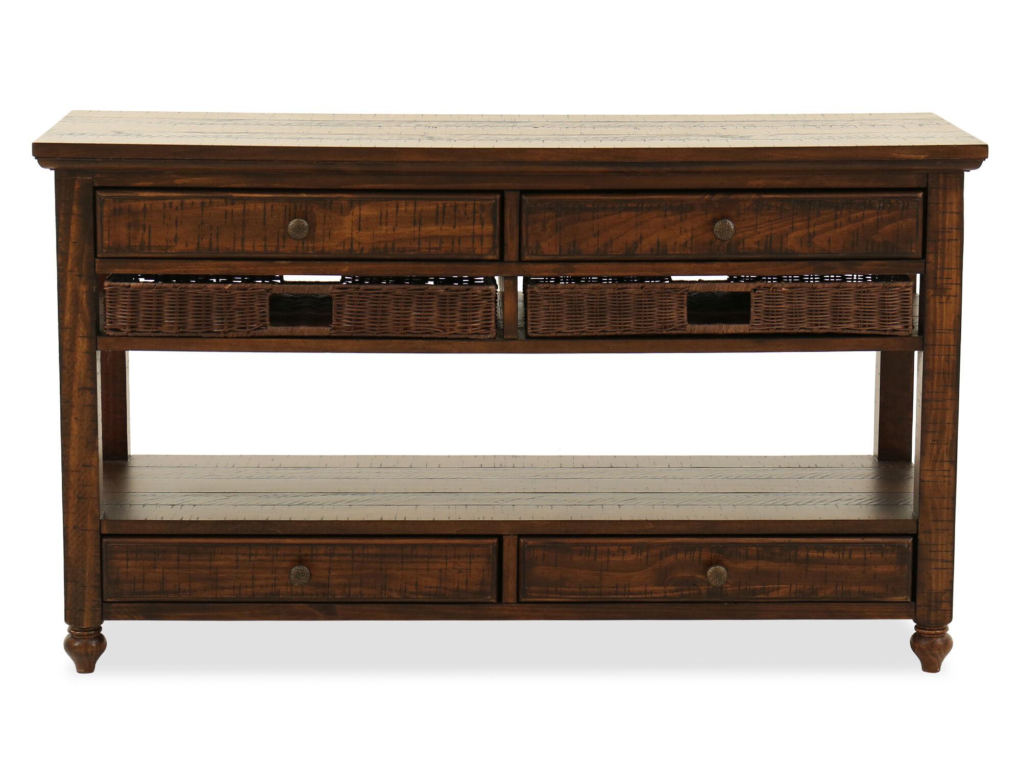 magnussen home cottage lane sofa table - Magnussen Furniture