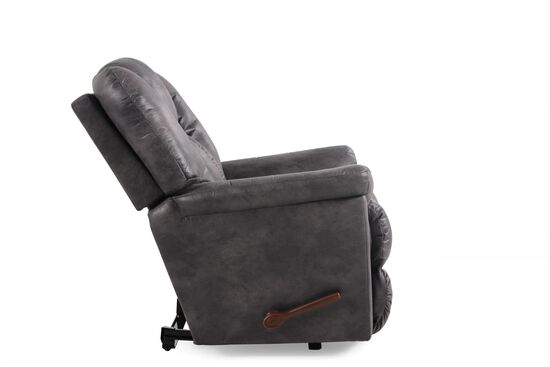 """Contemporary 19"""" Wall Recliner in Slate"""