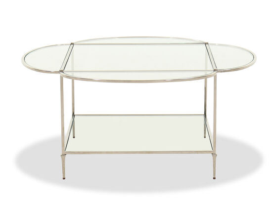 Contemporary Cocktail Table in Gold