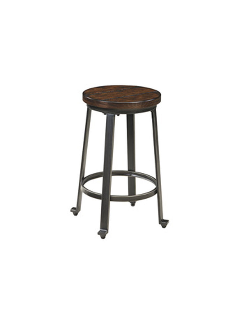"Casual 23.5"" Bar Stool in Dark Bronze"