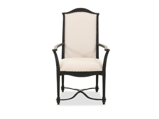 """Casual 43"""" Dining Chair in Oatmeal"""