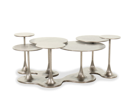 Traditional Cocktail Table in Graphite