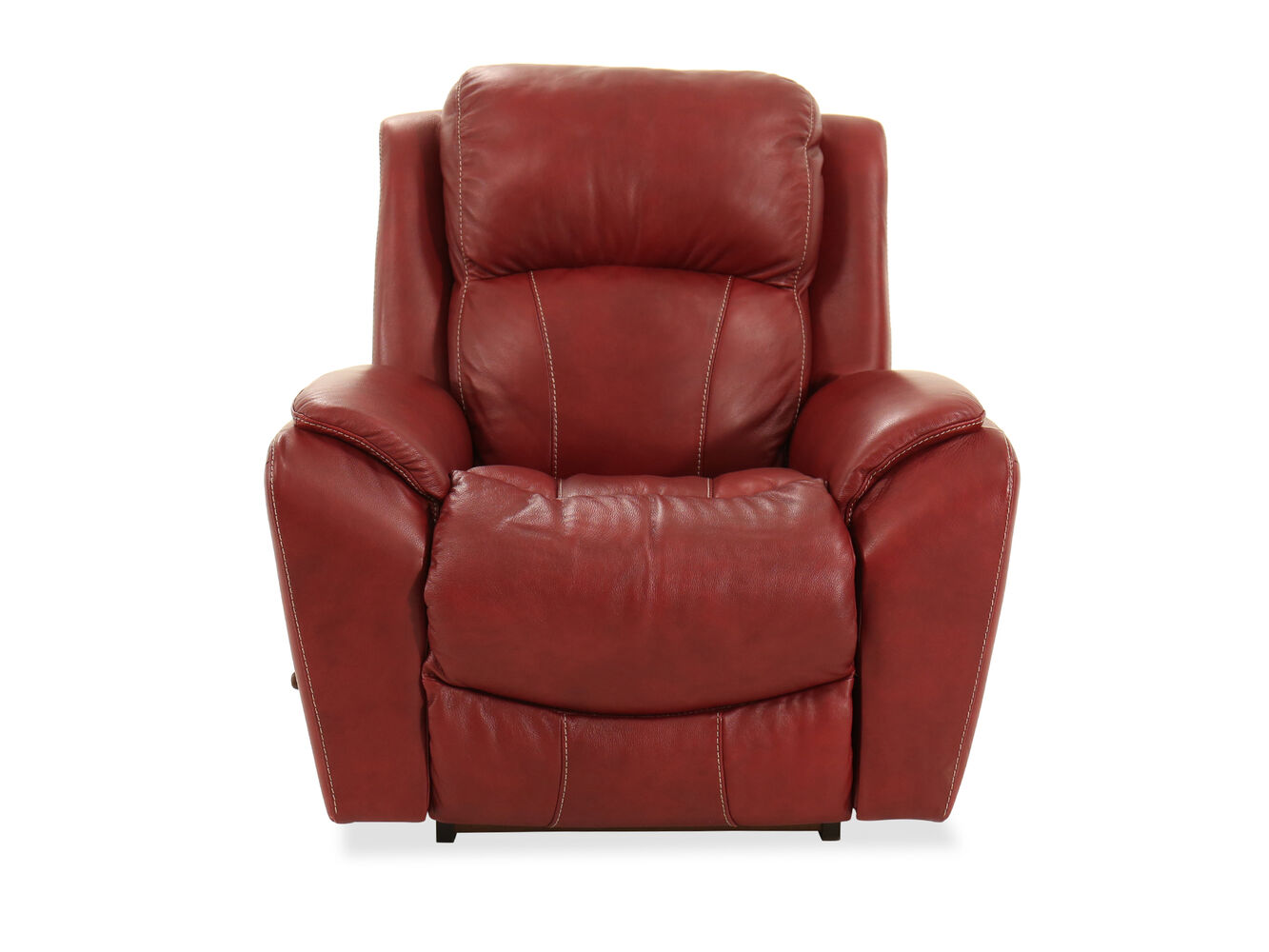 Traditional 40 Quot Rocker Recliner In Fire Red Mathis