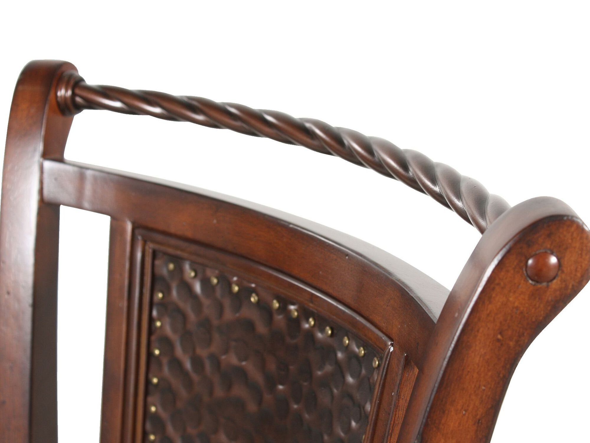 Swivel Bar Stool In Cherry Mathis Brothers Furniture