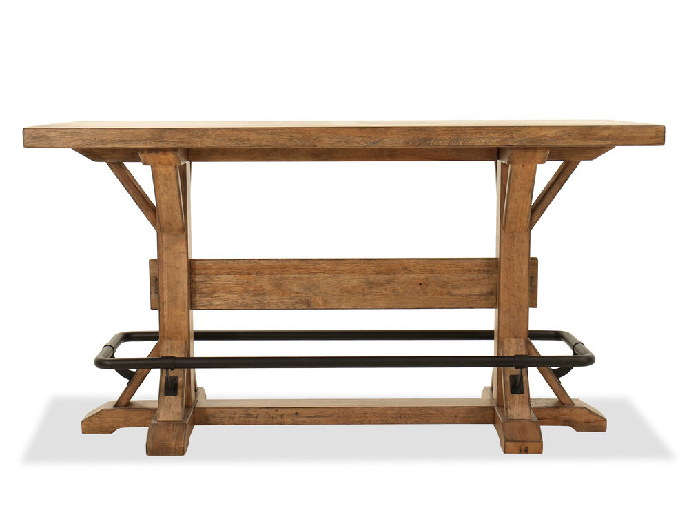 "Traditional 42"" Pub Table in Blonde"