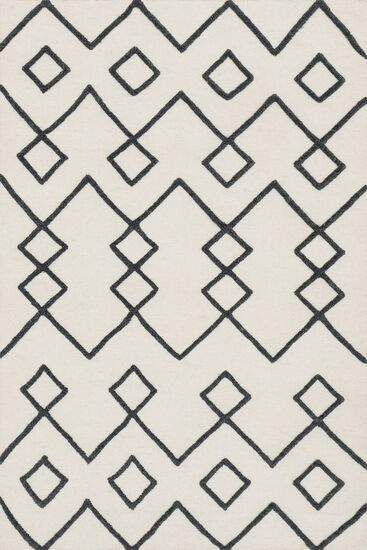 """Transitional 3'-6""""x5'-6"""" Rug in Ivory"""