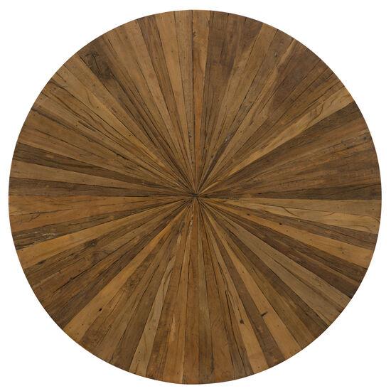 L'usine Cocktail Table in Medium Wood