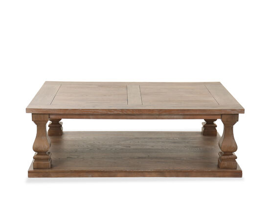 Traditional Cocktail Table in Gray