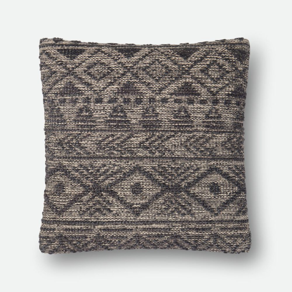"""22""""x22"""" Pillow Cover Only in Grey"""