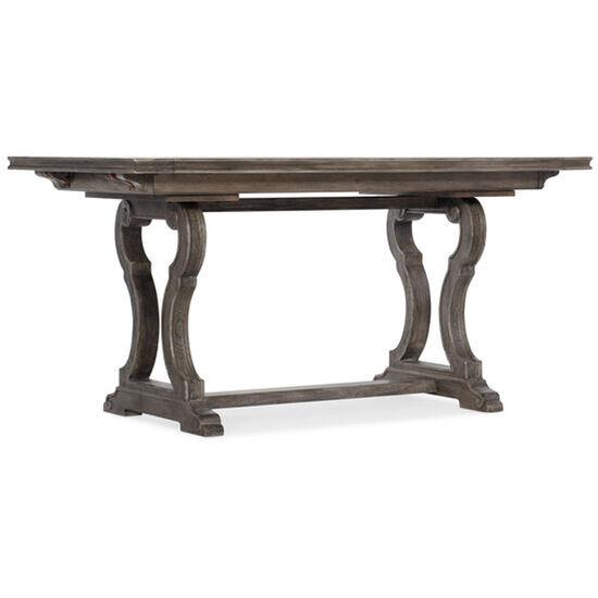 "Woodlands Friendship Table W/2-12"" Leaves in Dark Wood"