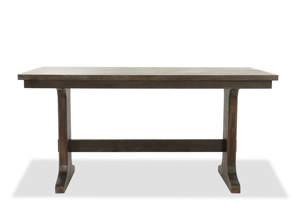 "Casual 72"" Counter Table in Dark Oak"