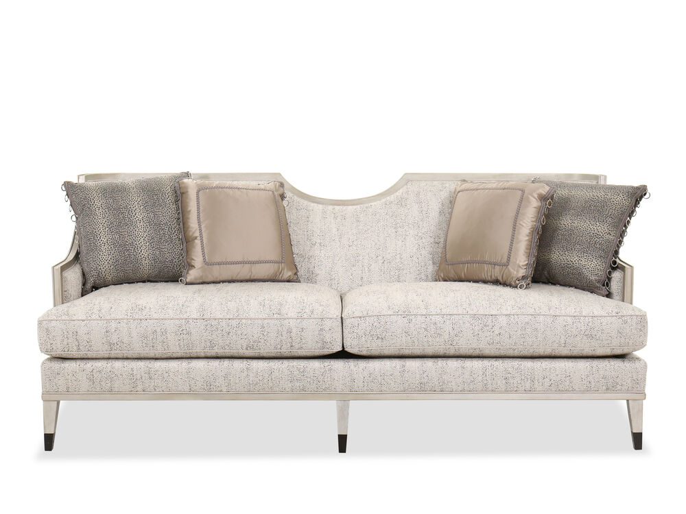"Contemporary 83"" Sofa in Gray"