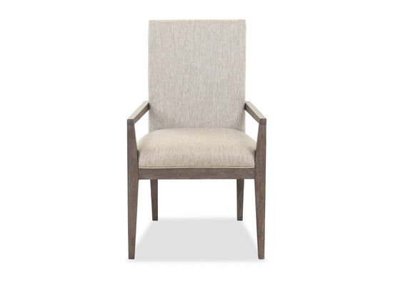 "39"" Contemporary Dining Chair in Gray"