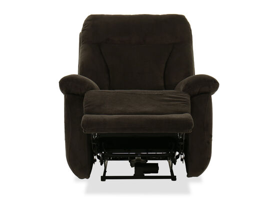 Casual 37'' Power Recliner in Dark Brown