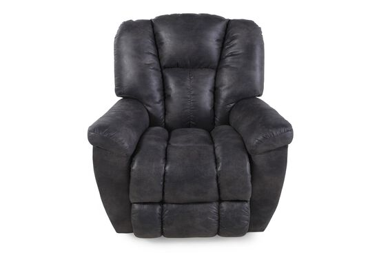 "Casual 38"" Rocker Recliner in Slate"