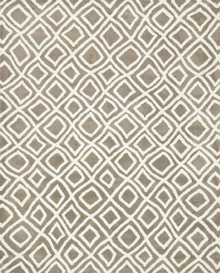 "Transitional 2'-3""x3'-9"" Rug in Beige"