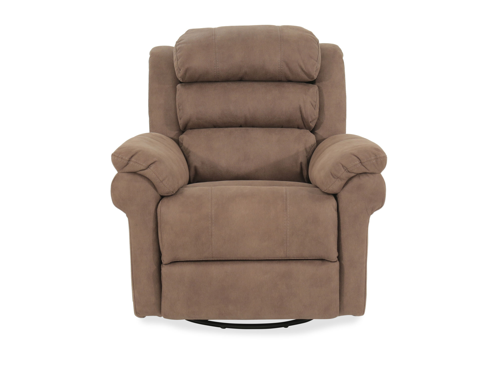 Casual 38 Quot Power Swivel Glider Recliner In Beige Mathis