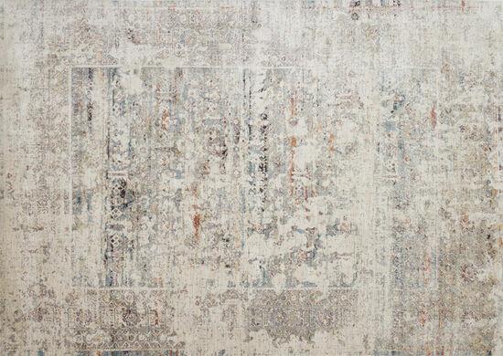 "Loloi Power Loomed 5'3""x7'4"" Rug in Ivory/Granite"