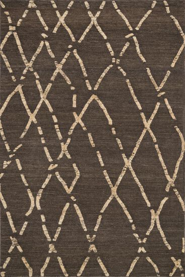 "Transitional 5'-0""x7'-6"" Rug in Turkish Coffee"