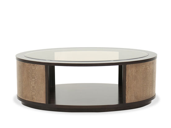 Contemporary Cocktail Table in Brown