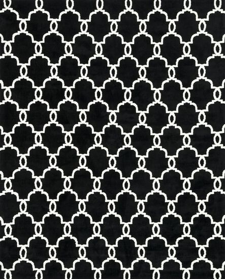 """Transitional 2'-3""""x3'-9"""" Rug in Onyx"""
