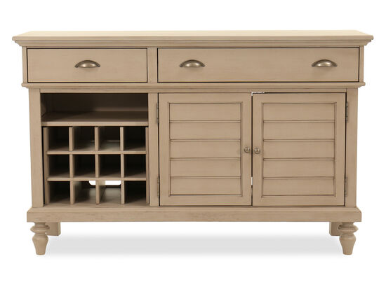 """58"""" Two-Drawer Buffet in Putty"""