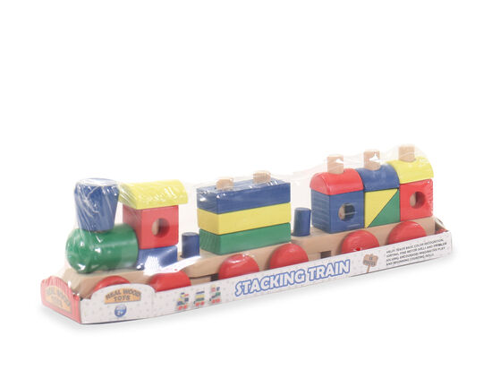 18-Piece Stacking Train