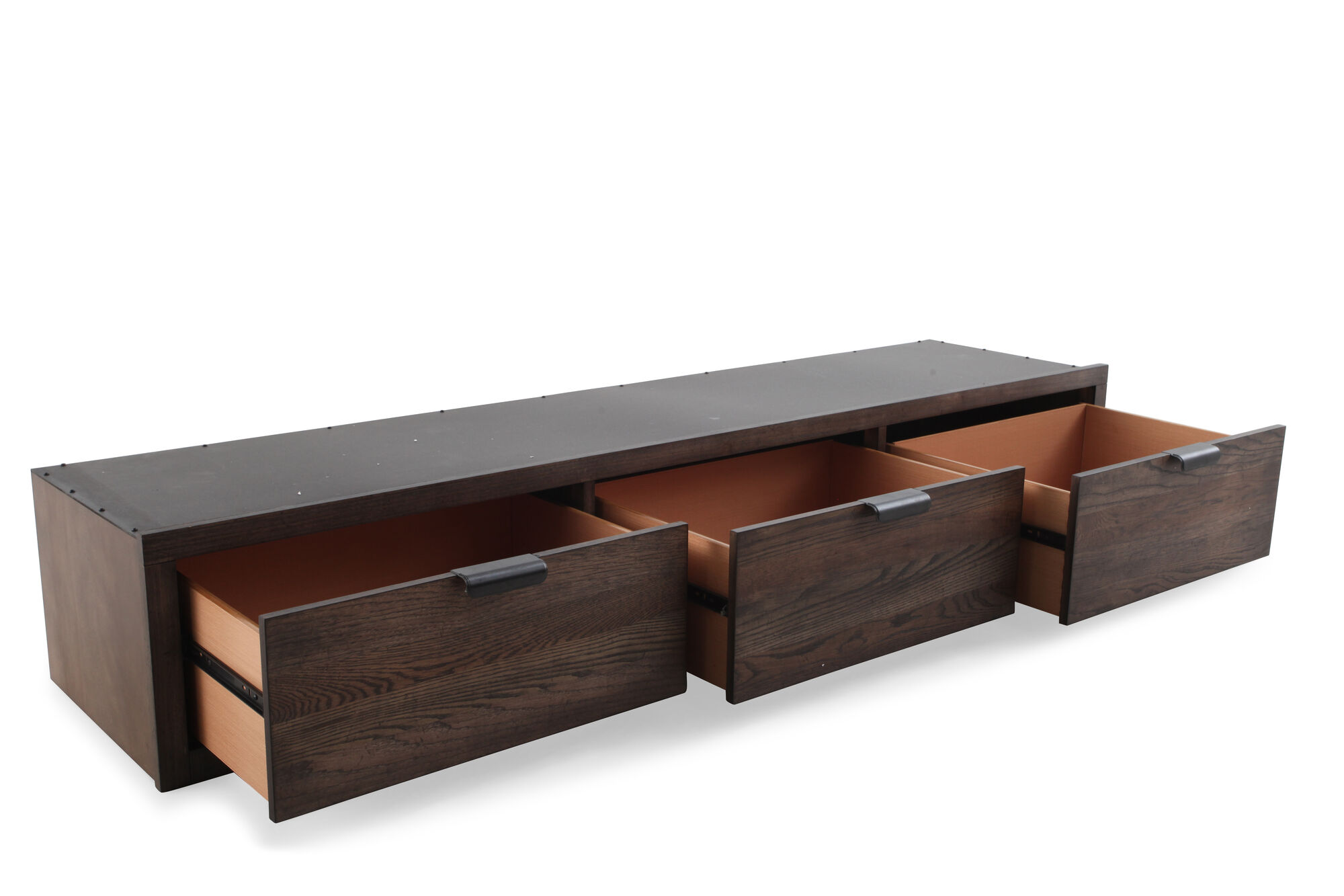 Contemporary three drawer youth underbed storage unit in - Youth bedroom furniture with storage ...