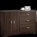 """30"""" Traditional Double Door Dresser in Cinnamon Cherry"""