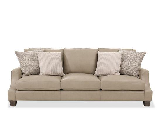 """94"""" Casual Sofa in Cream"""