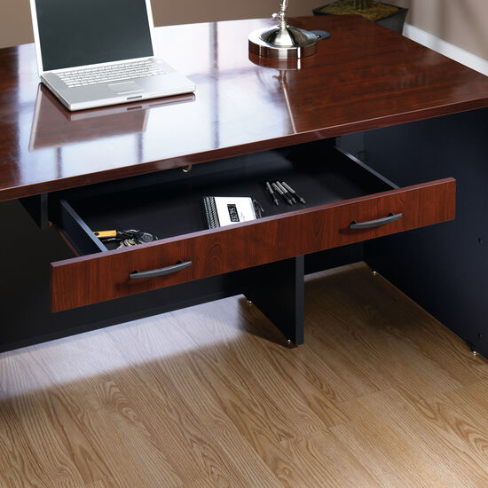 Flip-Down Pencil Drawer in Classic Cherry