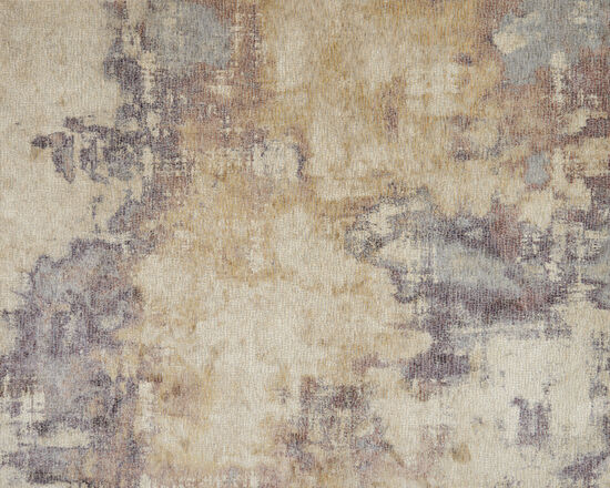Loloi Power Loomed 5'x8' Rug in Beige/Berry