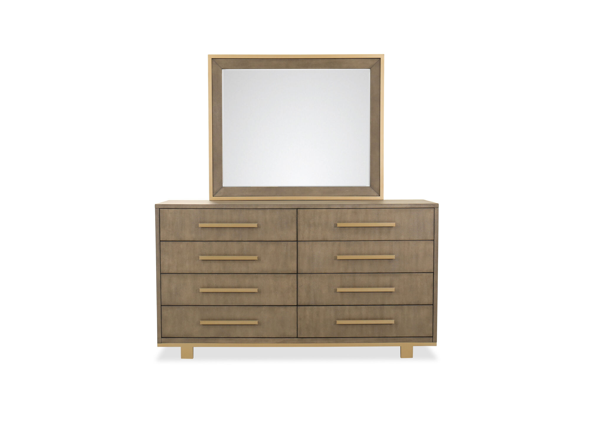 ... While The Top Drawers With Felt Bottoms Are Great For Storing  Delicates. The Landscape Mirror Comes With A Beveled Glass And Wooden  Supports For Safe ...