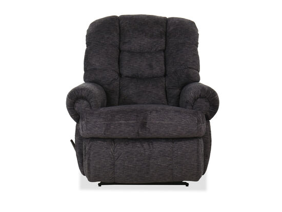 "Casual 44"" Wall Saver Recliner in Charcoal"
