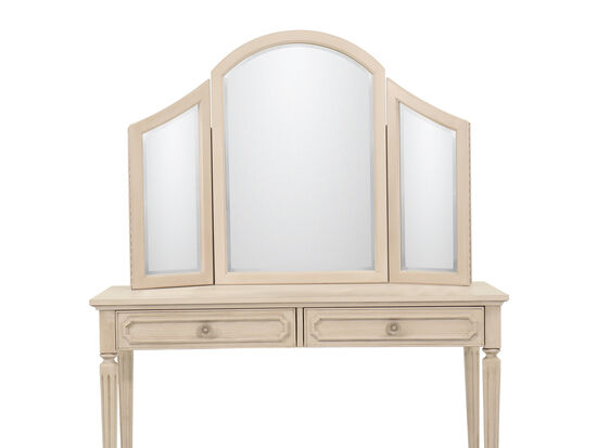 Youth Vanity Mirror in Vintage Taupe