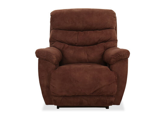 "Casual 40"" Rocking Recliner in Sable"