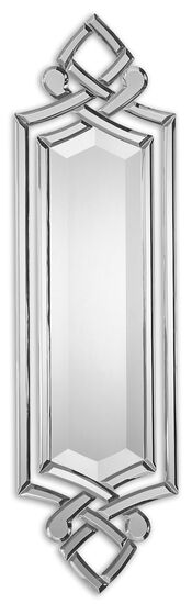 "36"" Hand Beveled Frameless Mirror"