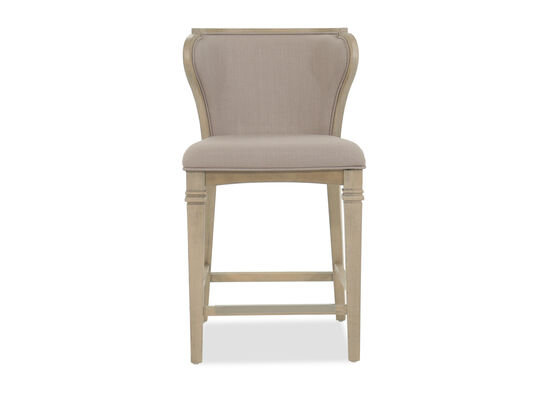 Counter-Height Desk Chairin Weathered Oak